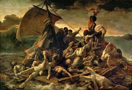 """""""רפסודת המדוזה"""", תאודור ז'ריקו, 1818"""