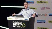 """ראש עיריית באר-שבע רוביק דנילוביץ' בכנס """"דה מרקר"""" (צילום מסך)"""