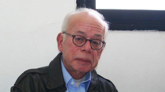 """עורך """"ישראל היום"""" עמוס רגב בדיון שאזכורו נמחק מכתב הערעור (צילום: אורן פרסיקו)"""