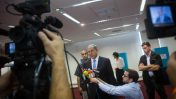 ראש ממשלת ישראל, בנימין נתניהו, נושא דברים בפני נציגי התקשורת. ירושלים, 14.6.15 (צילום: מרים אלסטר)
