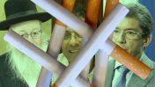 """מימין: מנכ""""ל פיליפ-מוריס העולמית אנדרה קלנצופולוס, מנכ""""ל """"וואלה"""" אילן ישועה ושר הבריאות יעקב ליצמן (צילומים: צילום מסך, דוברות """"וואלה"""" ופלאש90)"""