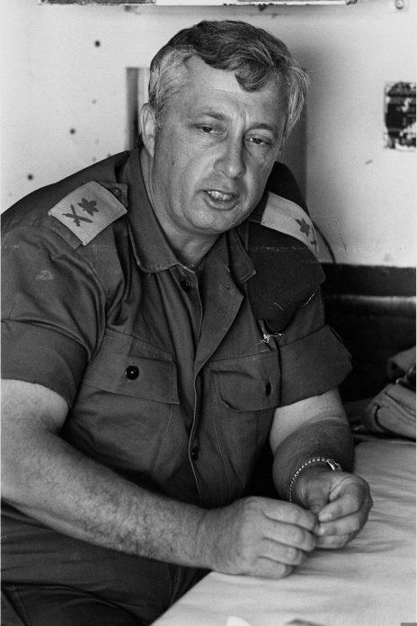 """אריאל שרון, 1967 (צילום: מיכה האן, לע""""מ)"""