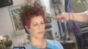 ג'ודי שלום-ניר-מוזס עוברת טקס שמאני לריפוי רוחני וטיהור מרוחות (צילום מסך)