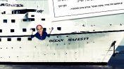 """ספינת התענוגות """"Ocean Majesty"""" (צילום מסך מעובד)"""