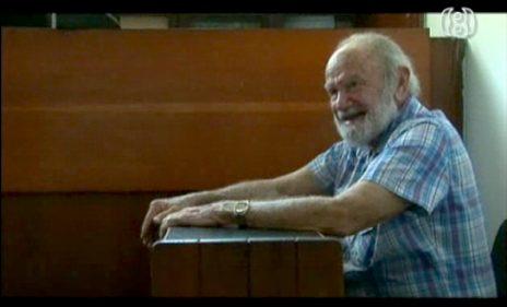 """יצחק יעקב, """"יצה"""", מתוך """"ממלכת הסוד, סרטו של ניר טויב (צילום מסך)"""