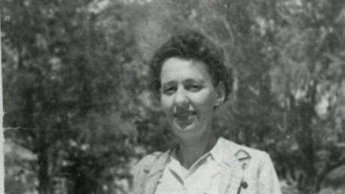 לאה גולברג (צילום: אנה ריבקין-בריק, נחלת הכלל)