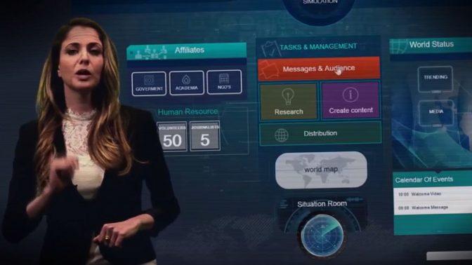 הצגה של האפליקציה Act.il בסרטון של Act.il (צילום מסך)
