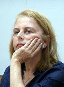 """רחל דולב, הצנזורית הצבאית הראשית בזמן שיצאה ההנחיה מהפרקליטות (צילום: """"העין השביעית"""")"""
