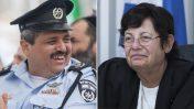 """נשיאת בית המשפט העליון מרים נאור ומפכ""""ל המשטרה רוני אלשיך (צילומים: פלאש90)"""